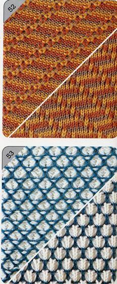 вязание на машине Silver Reed цветные узоры для вязания на машине