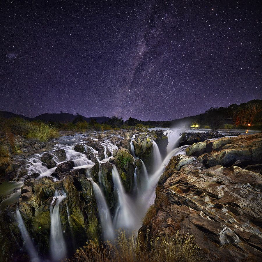 A collection of dreamy star photography light painting night light painting epupa falls by patrick galibert stunning night photography series mozeypictures Image collections