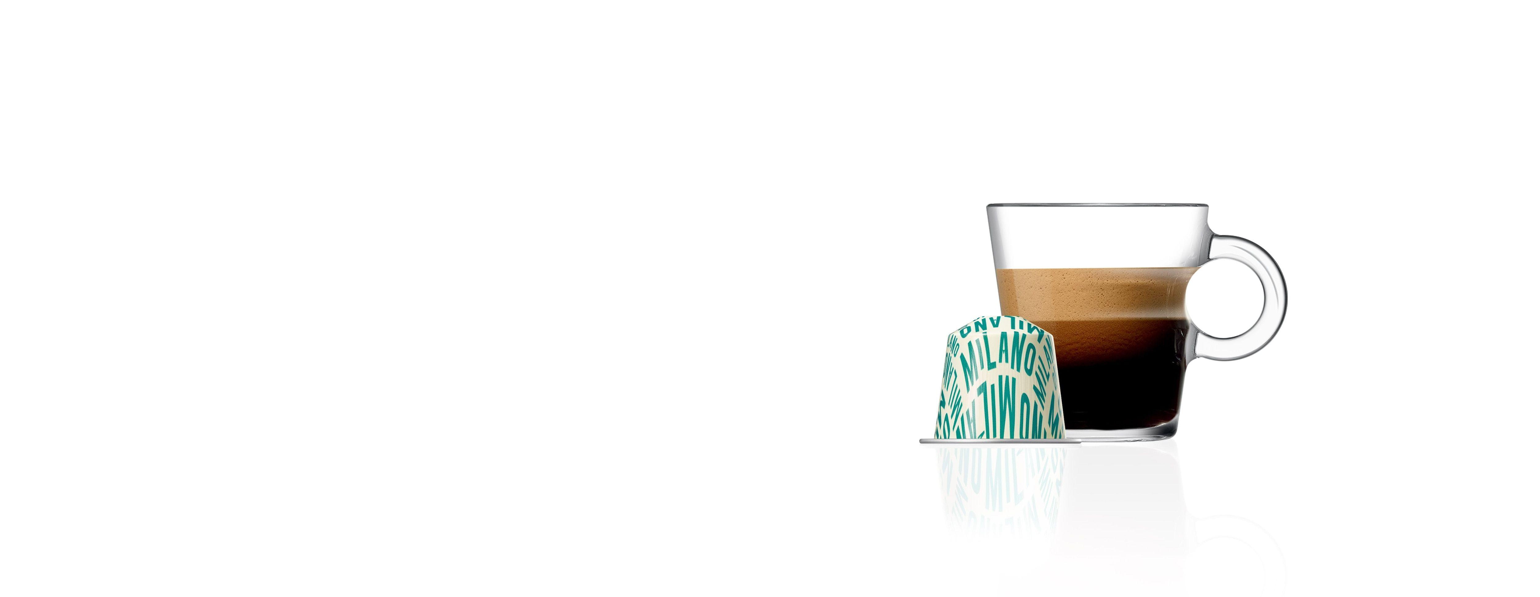 Café Milano Tribute to Milano Coffee Pods Nespresso