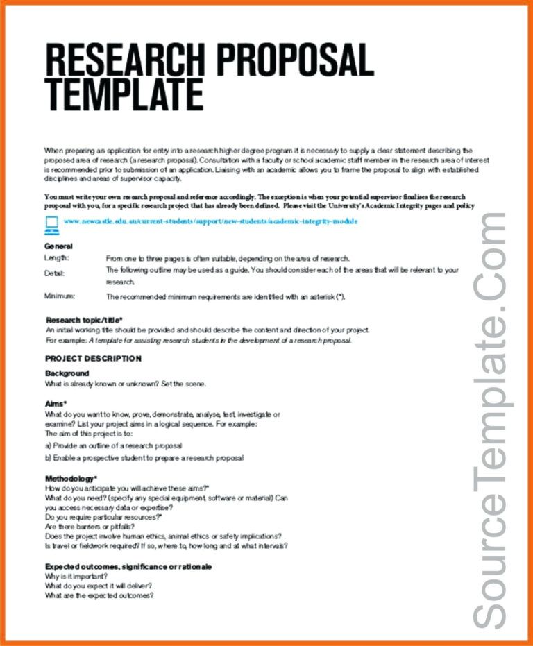 Research T Proposal Template Paper Example E2 80 93 Regarding Software Project Te Of For Papers
