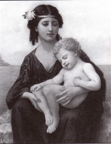 Elizabeth By The Seashore William Adolphe Bouguereau With Images William Adolphe Bouguereau Artist Artwork
