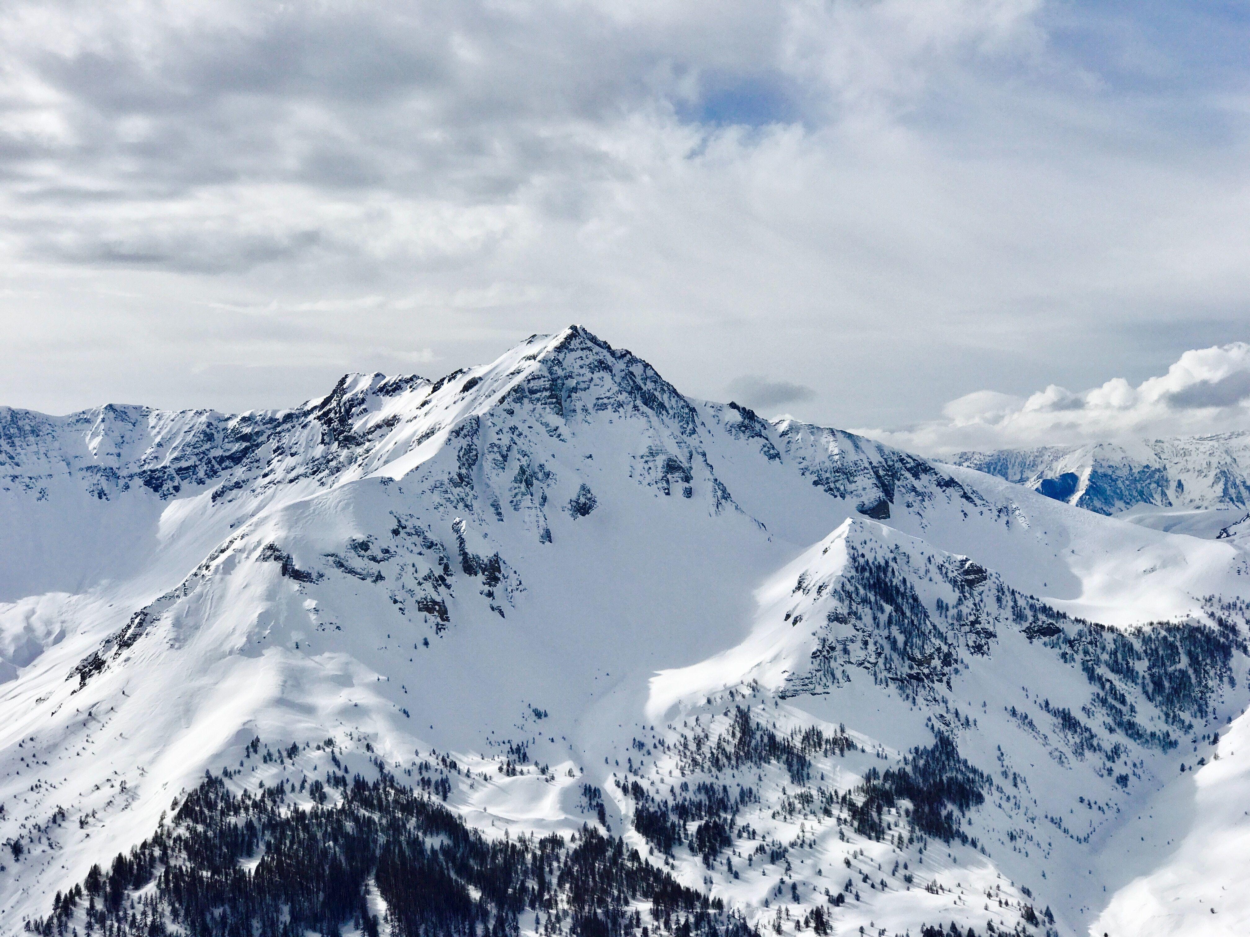 Snowy Mountains Snowy Mountains Beautiful Mountains Mountain Landscape