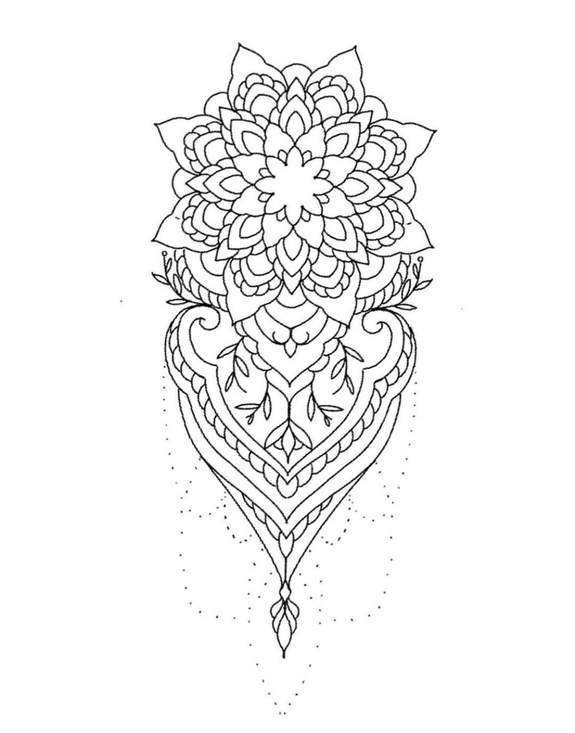 Pin By Lyudmila Karasevych On Pinterest Mandala Tattoo And