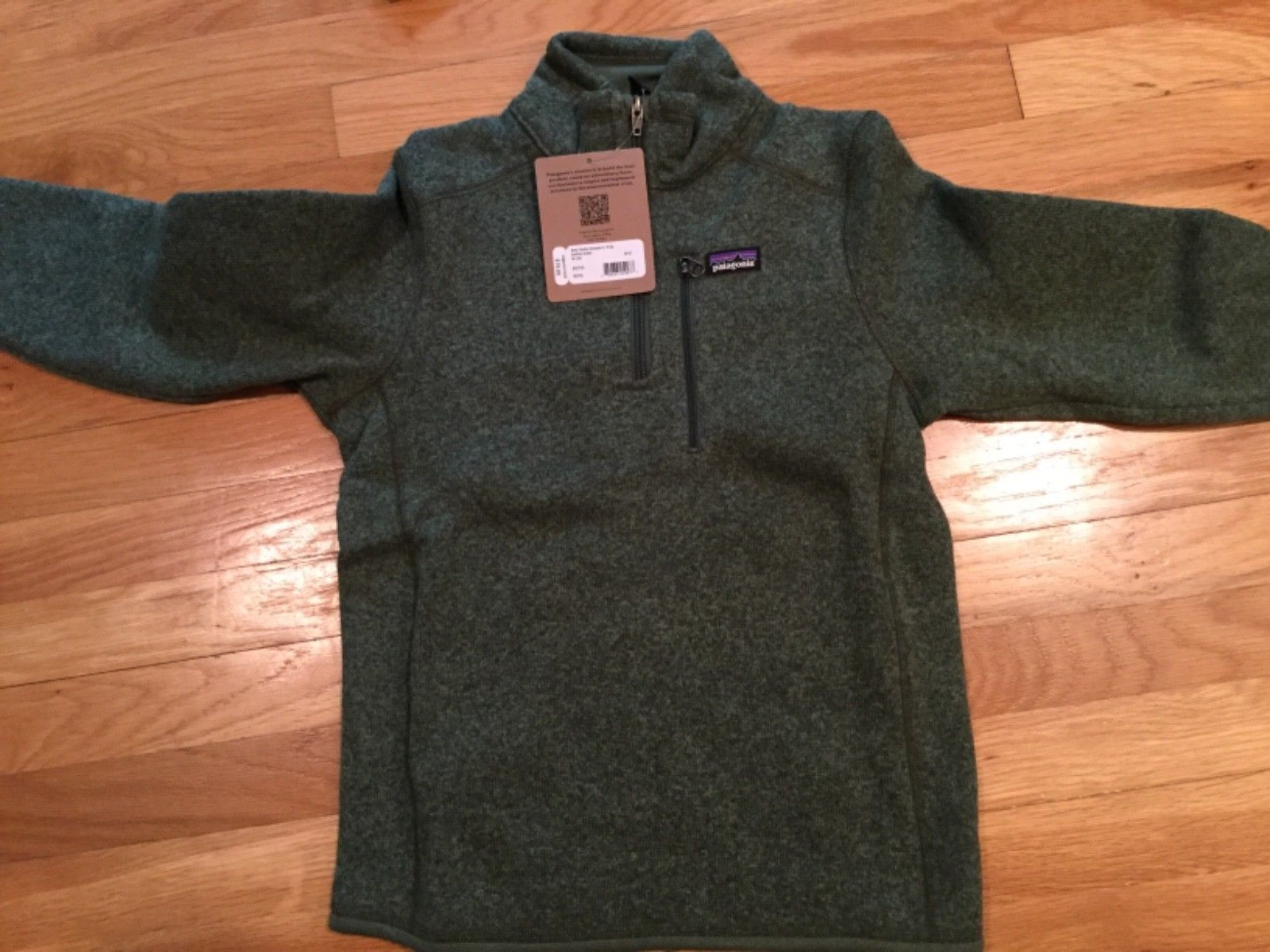 Outerwear 51933  Nwt Patagonia Boys Better Sweater 1 4 Zip 1de95d62a