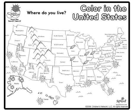 Us Map Coloring Page 4th Grade Social Studies 3rd Grade Social Studies Homeschool Social Studies