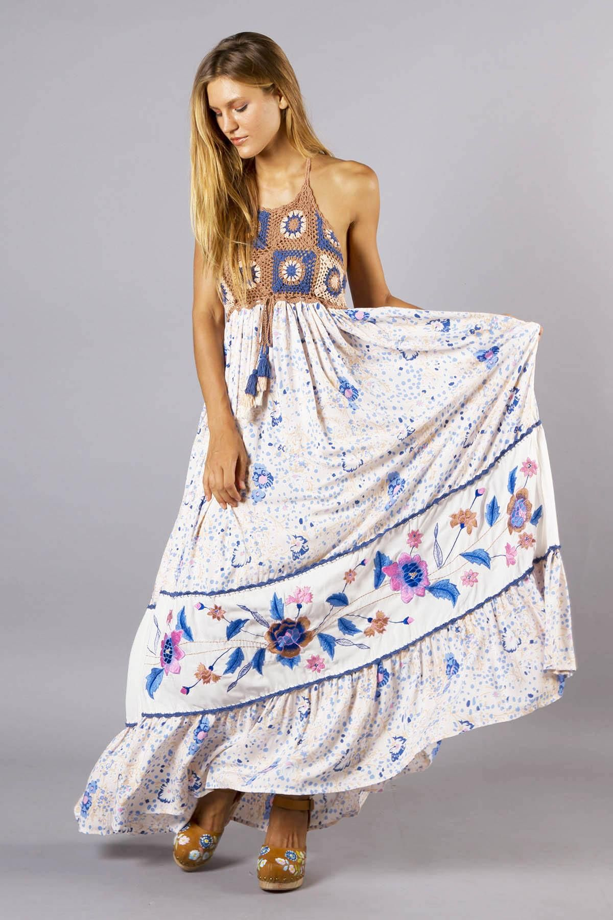 Kiss chasey womens crochet and embroidered maxi dress fillyboo kiss chasey womens crochet and embroidered maxi dress fillyboo boho inspired maternity clothes ombrellifo Image collections