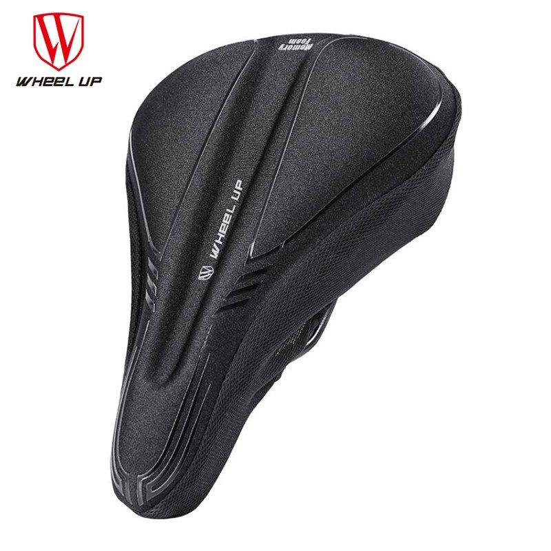 Wheel Up Bicycle Silicone Saddle Cover Cushion Breathable Mountain