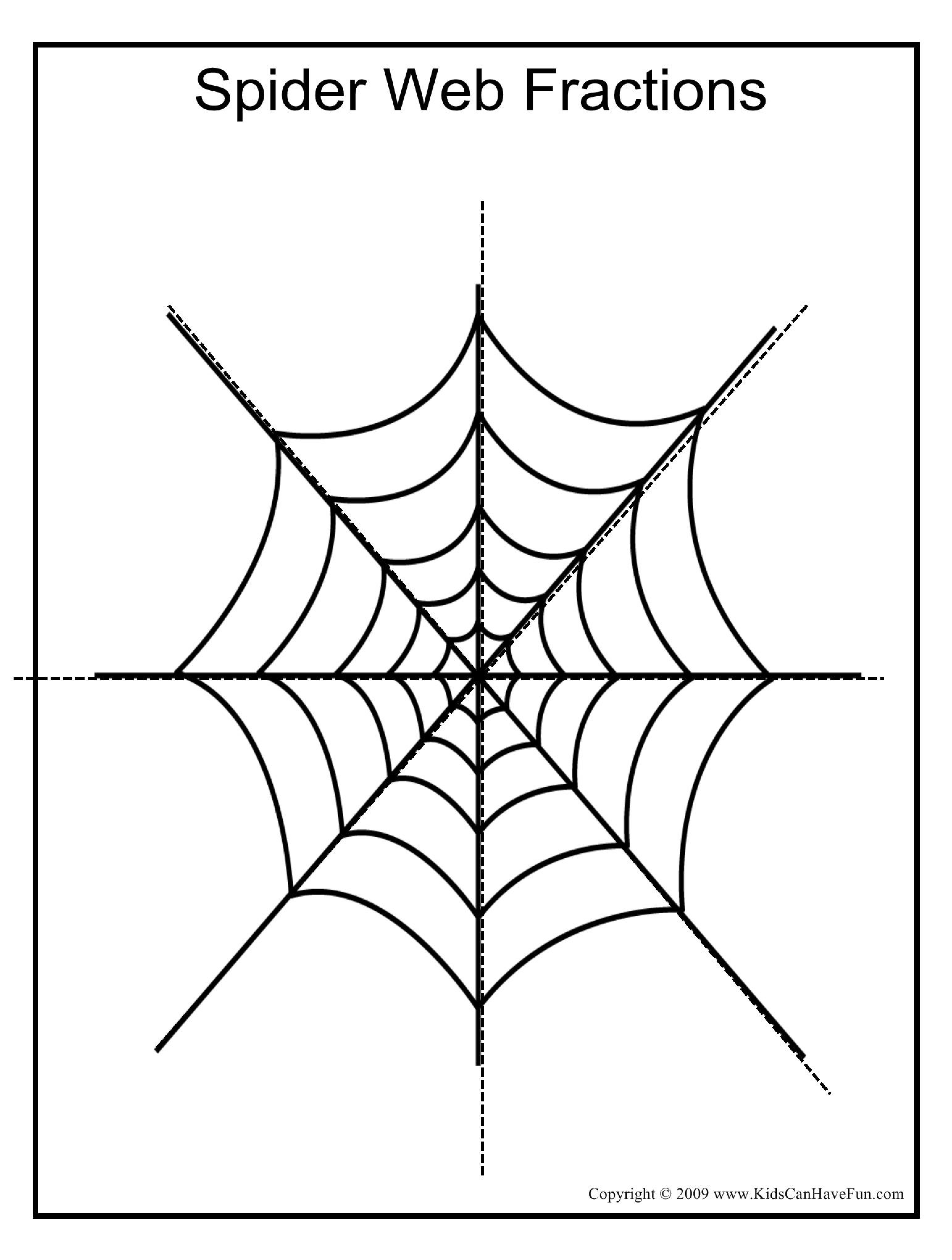 Halloween Symmetry Worksheets
