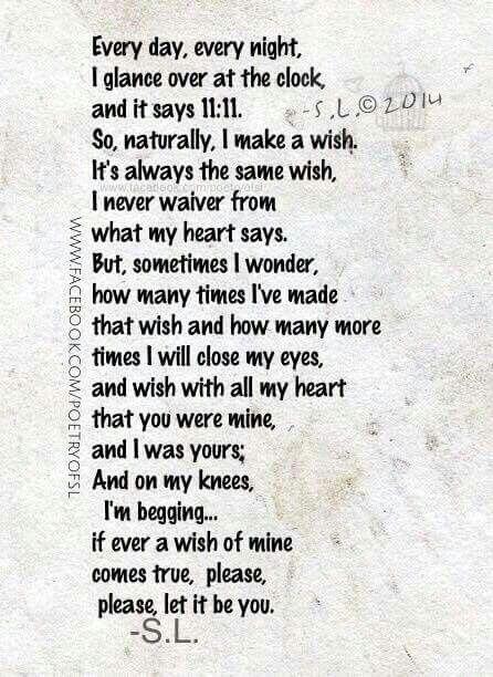 11:11. Make a wish