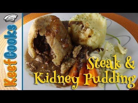 Steak and Kidney Pudding - YouTube | Steak and kidney ...