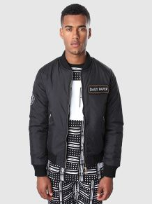 info for 4d9ae 069c8 Daily-Paper - Black Bomber Jacket