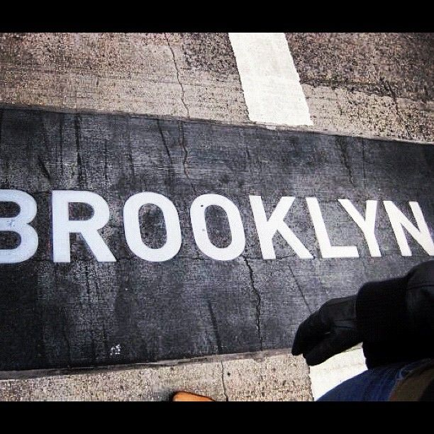 Stepping foot into Brooklyn!