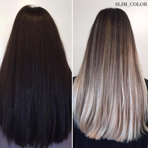 Black Box Color To Ash Blonde With Images Dyed Blonde Hair