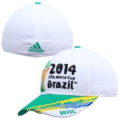 b0ac06c2b1668c adidas 2014 FIFA World Cup Brazil Flex Hat | World Cup Soccer Gear ...