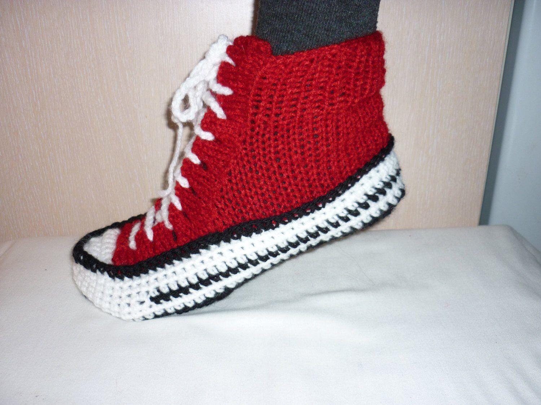 Converse Crochet Pattern New Design Ideas