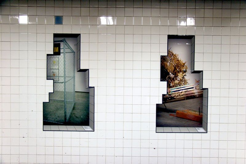 Promo posters for the Bowery Museum