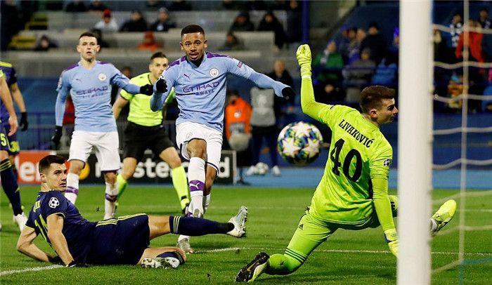 Dinamo Zagreb 1 4 Manchester City