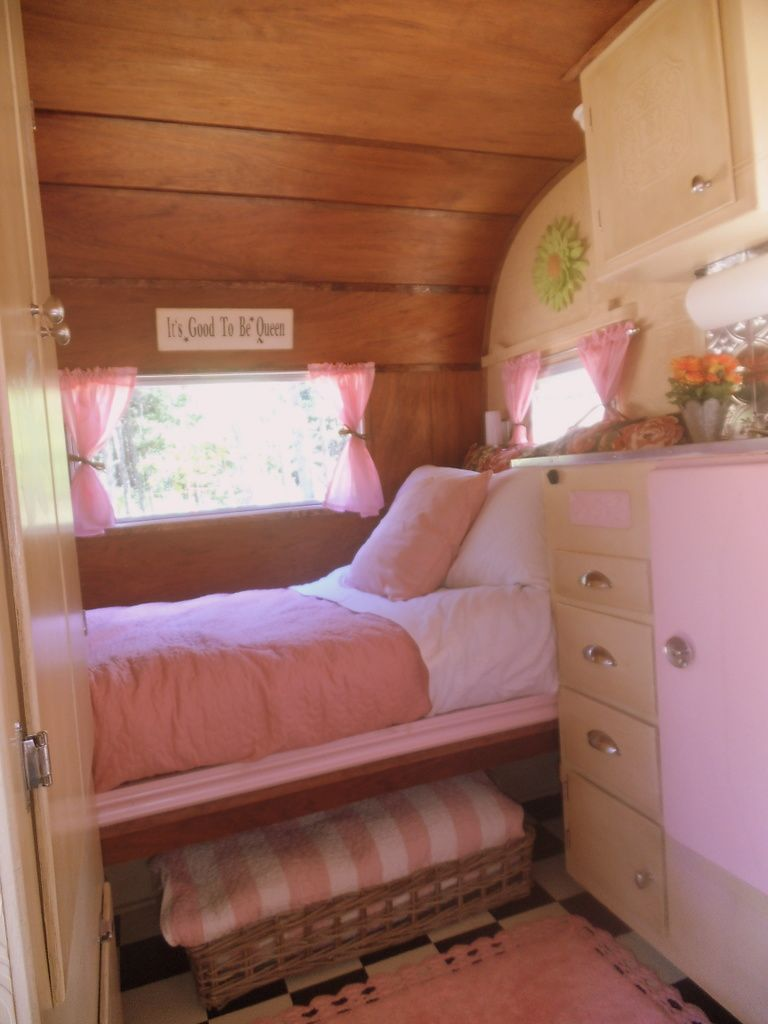 Explore Retro Campers Camper Trailers And More Vintage Pink Trailer