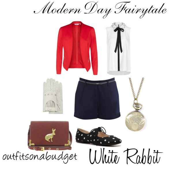Modern Day Fairytale White Rabbit By Oliviairene14 On Polyvore
