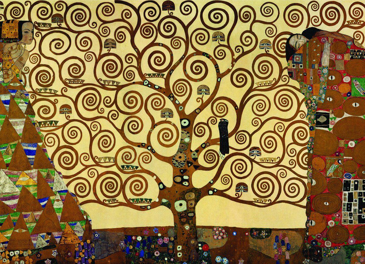 Klimt L Arbre De Vie La Chute Des Anges Tree Of Life