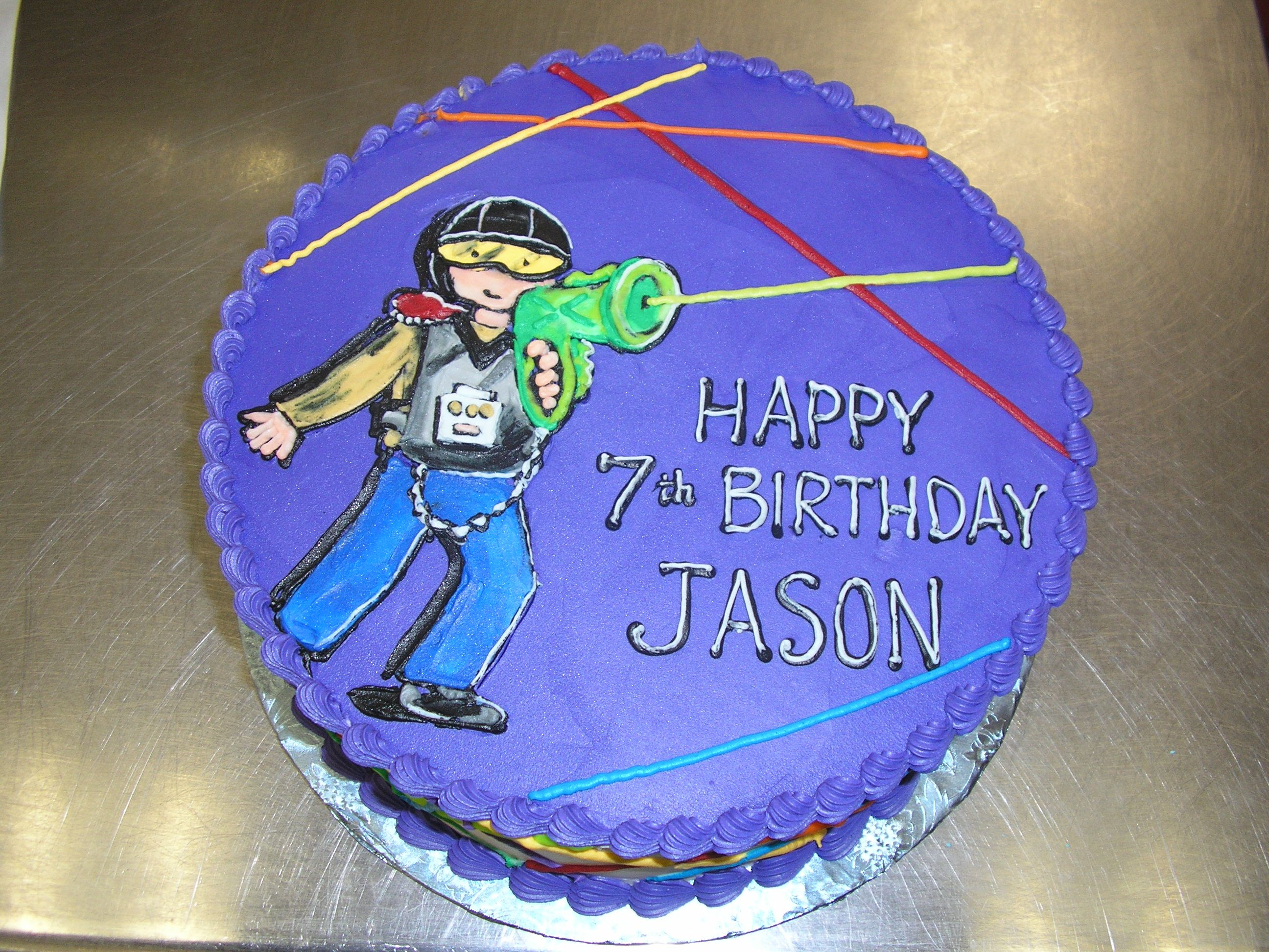 Laser Tag Birthday Cake Google Search Party Ideas Pinterest