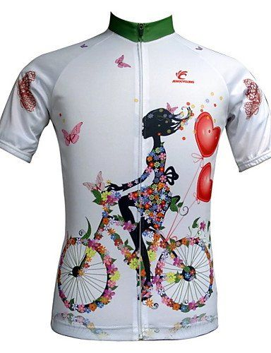 b0d877930 JESOCYCLING Womens Cycling Jersey Short Sleeve Spring And Summer Breathable  S   For more information