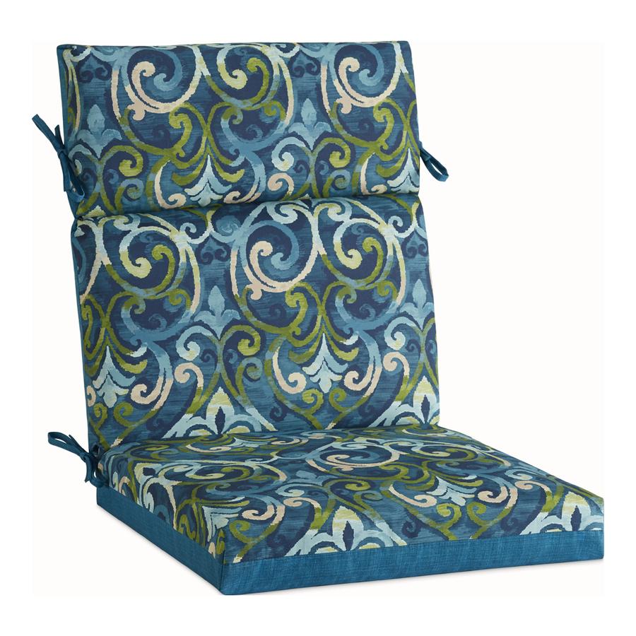 Garden Treasures Salito Marine High Back Patio Chair Cushion At