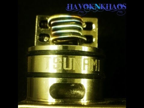 How To Build A Micro Quad Coil On The Geekvape Tsunami Youtube