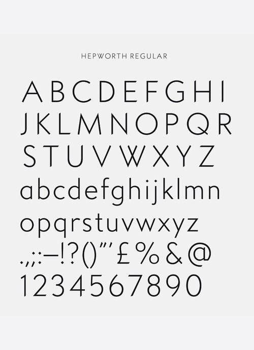 Hepworth Regular