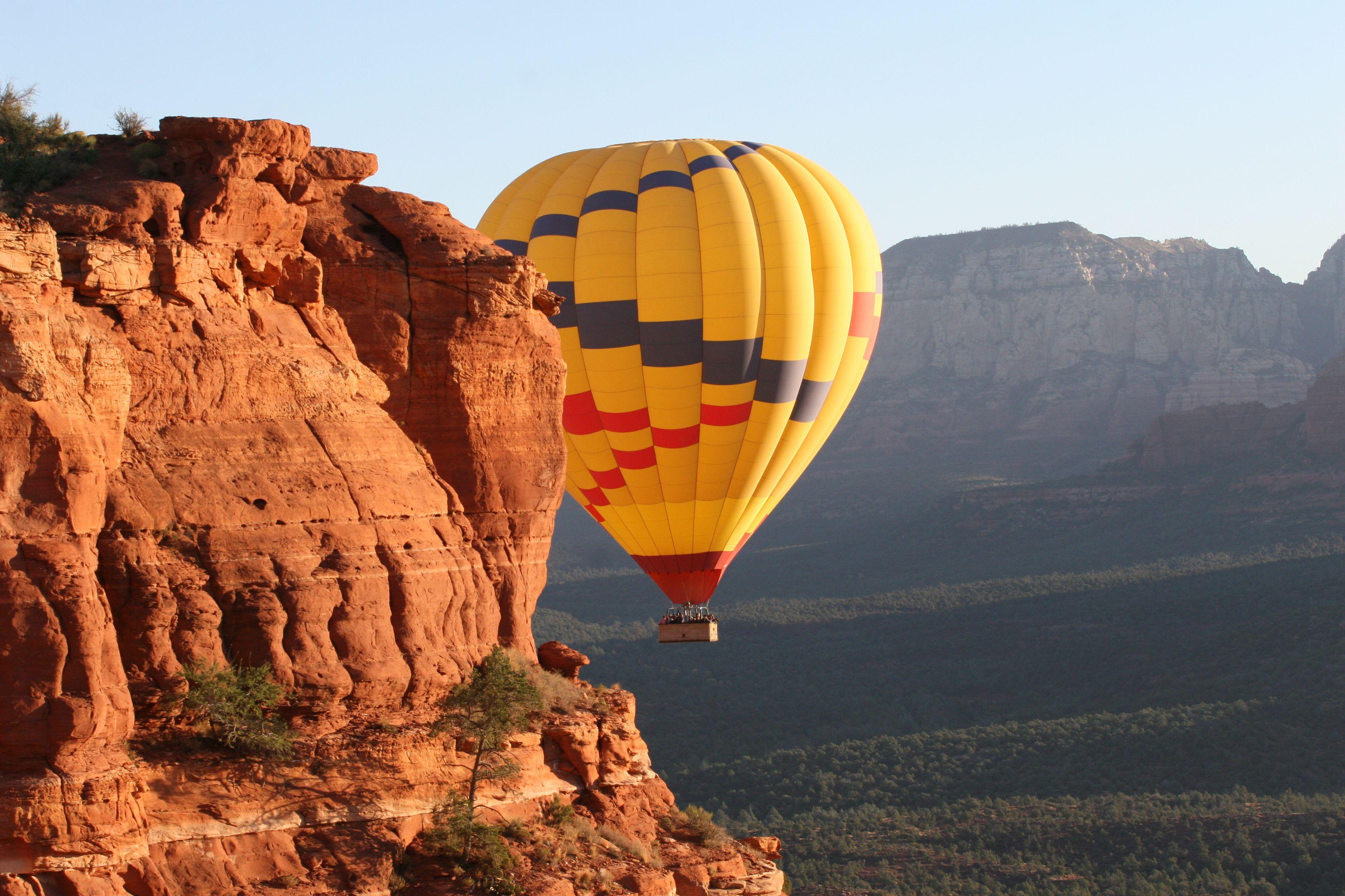 Hot Air Balloon ride in Sedonawe did this a few years ago