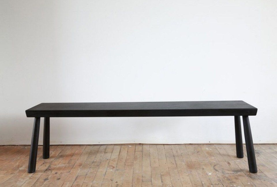 10 Easy Pieces Modern Black Farmhouse Benches Remodelista Furniture New Furniture Pin Legs