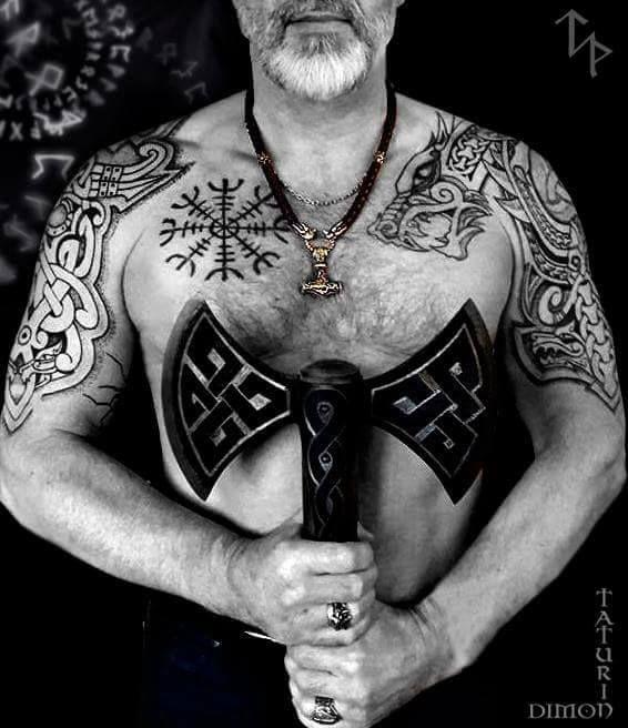 Viking Tribal Tattoos: Viking Tattoo Sleeve, Norse Tattoo