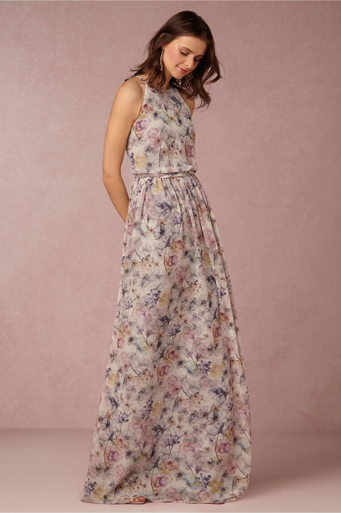 Vestido de noiva floral | แฟชั่น | Pinterest