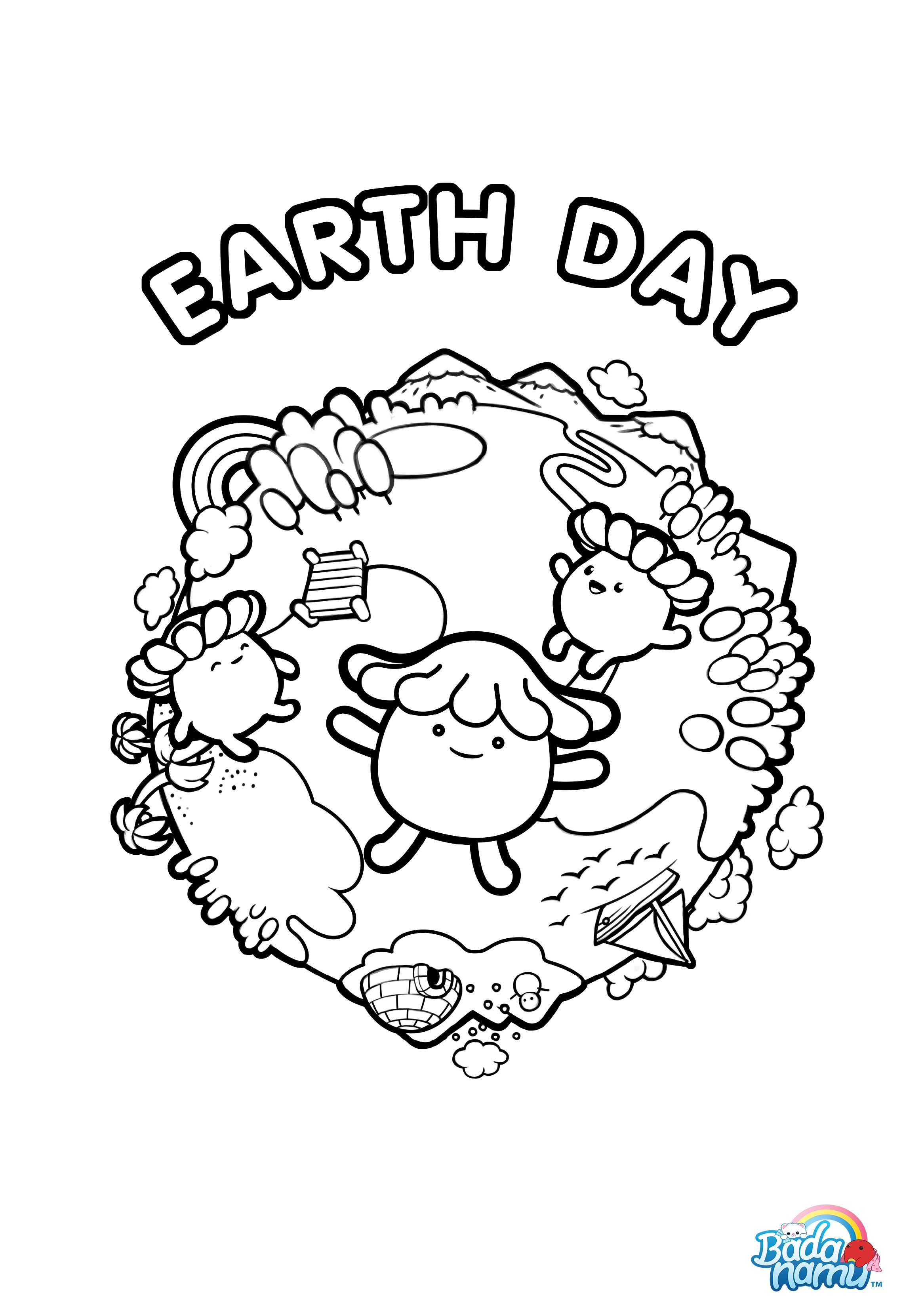 Help our Eccos celebrate Earth Day by coloring this fun