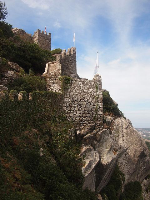 Moorish Castle, Sintra Portugal by TheKMF, via Flickr