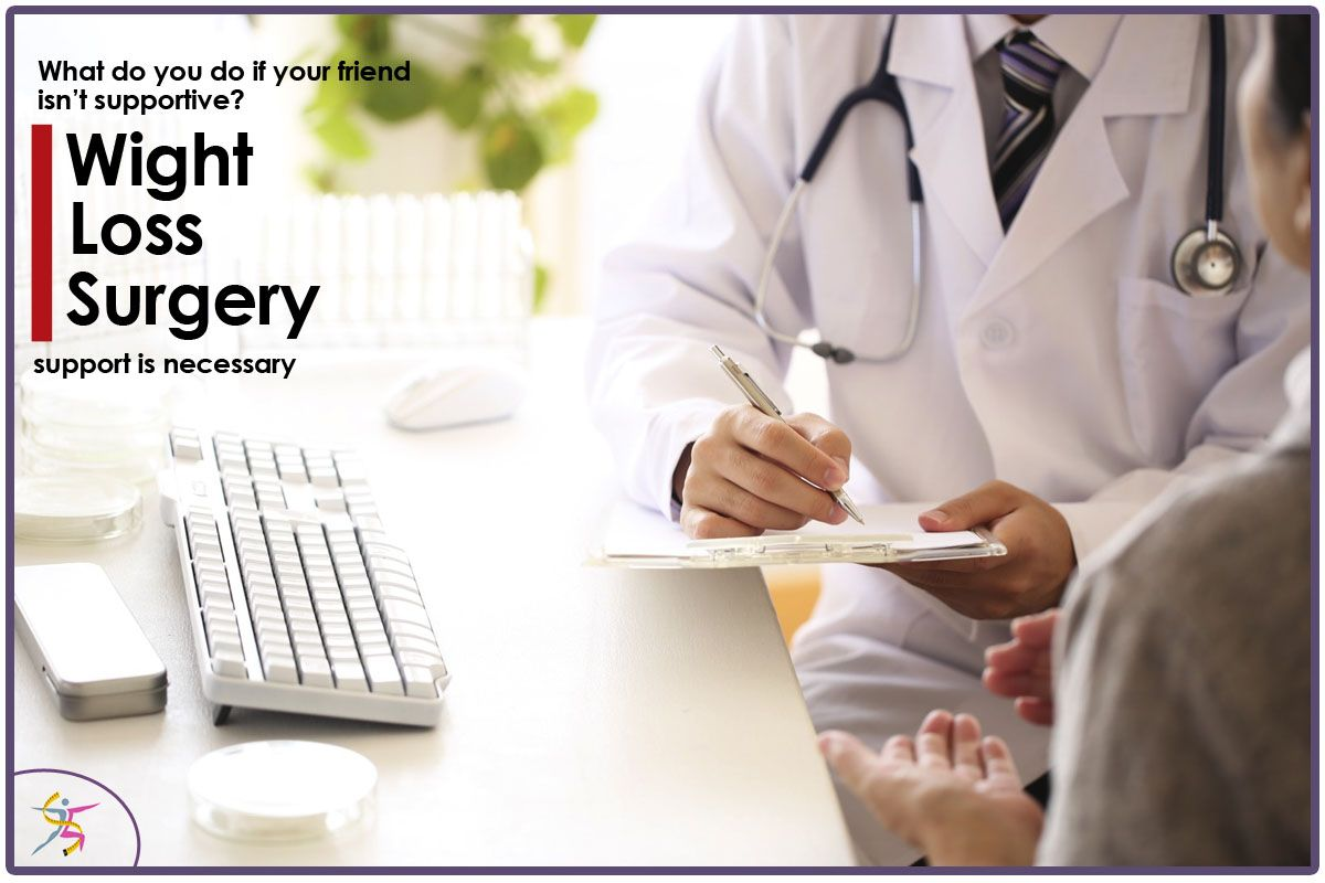 WeightLossSurgery support is necessary. What do you do if