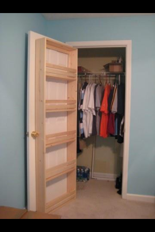 Back Of Door Storage Home Diy Home Projects Home Organization