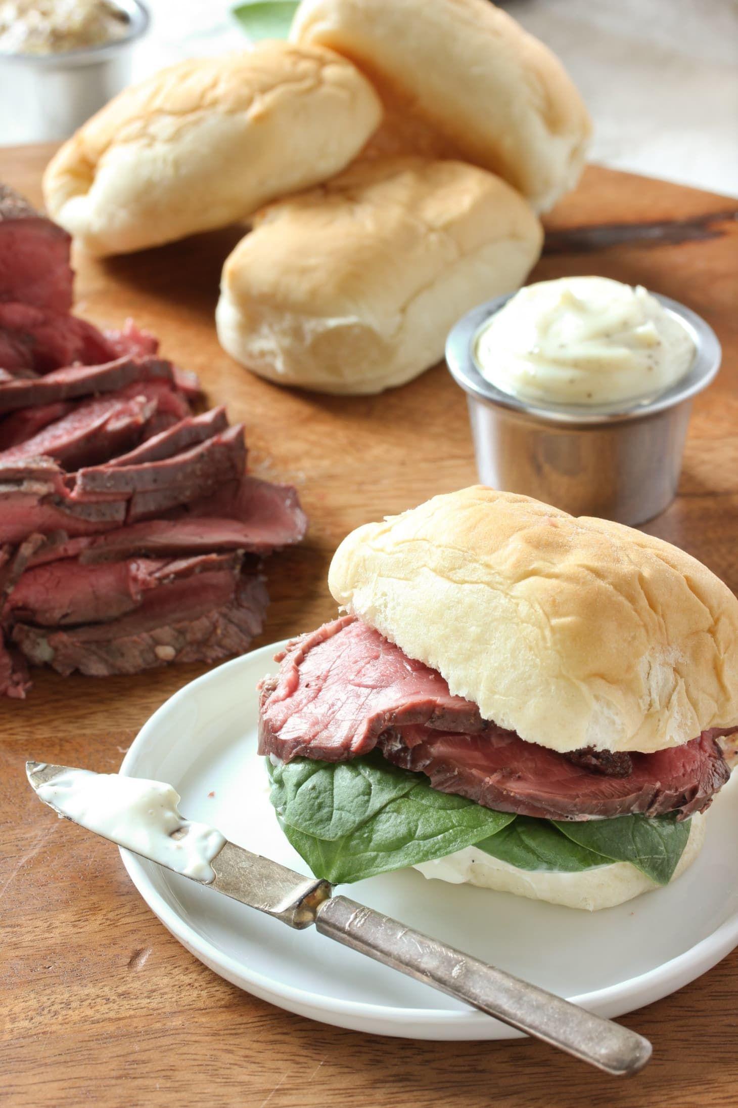 Beef Tenderloin Sliders with Horseradish Sauce | Recipe | Beef tenderloin, Horseradish sauce ...