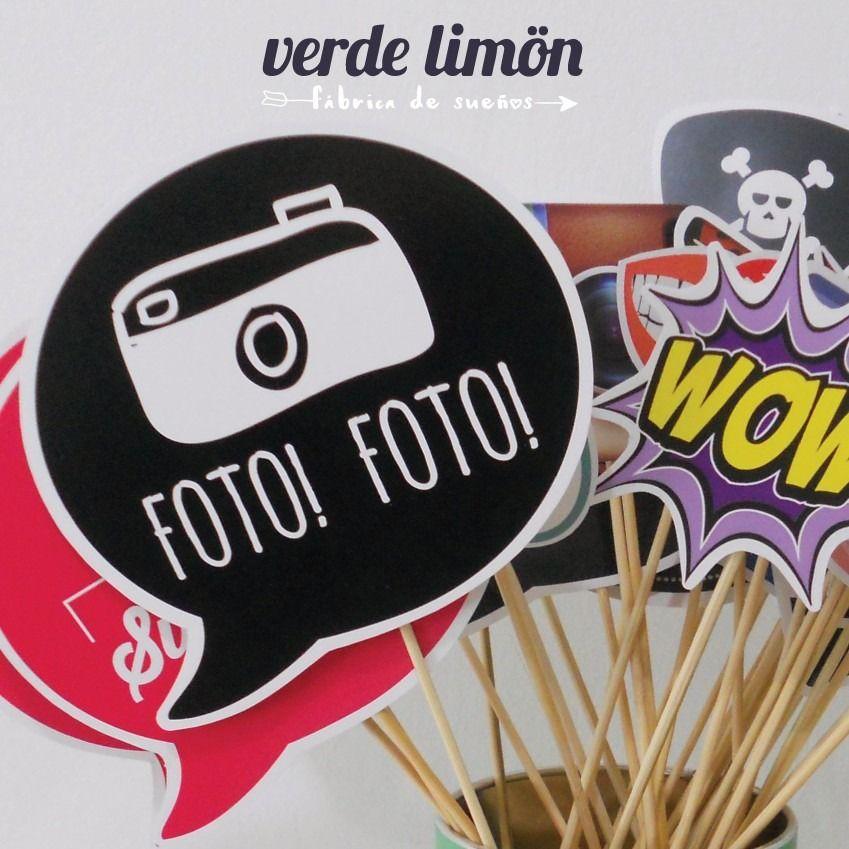 Fotos m s divertidas foto props cotill n fiestas - Ideas para fiestas ...