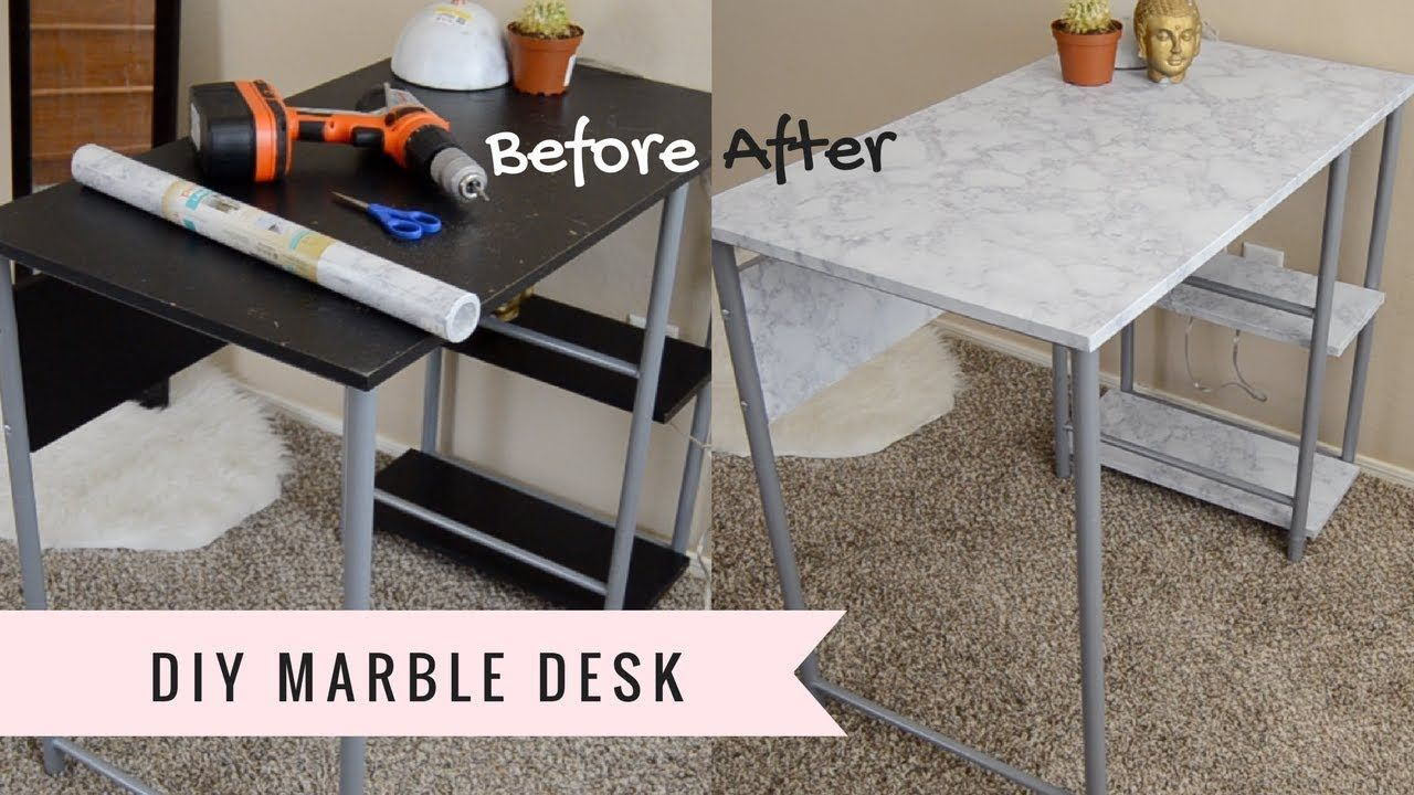 Superb Cheap Diy Home Decor How To Make A Faux Marble Table Cheap Home Interior And Landscaping Ponolsignezvosmurscom