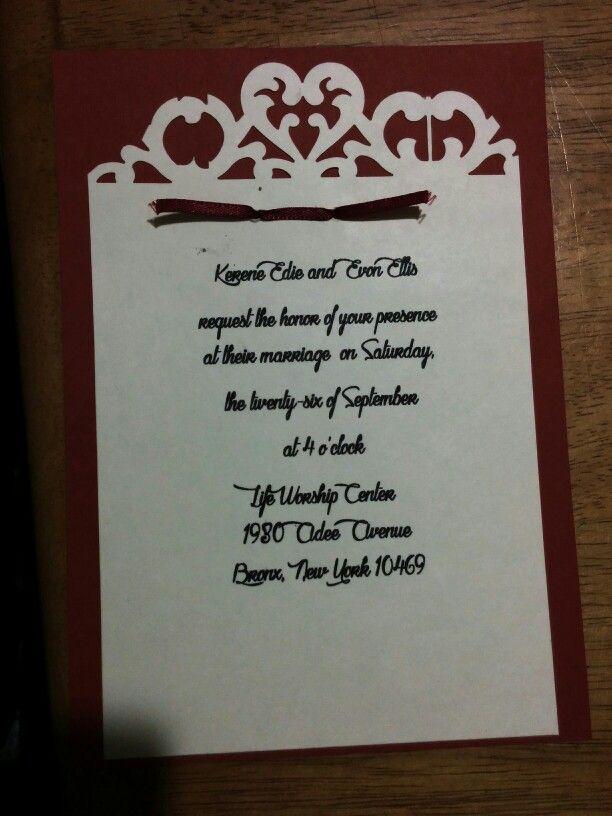 diy wedding invitations elegant%0A Diy wedding invitation for my big day   teamEllis  Diyweddinginvitations