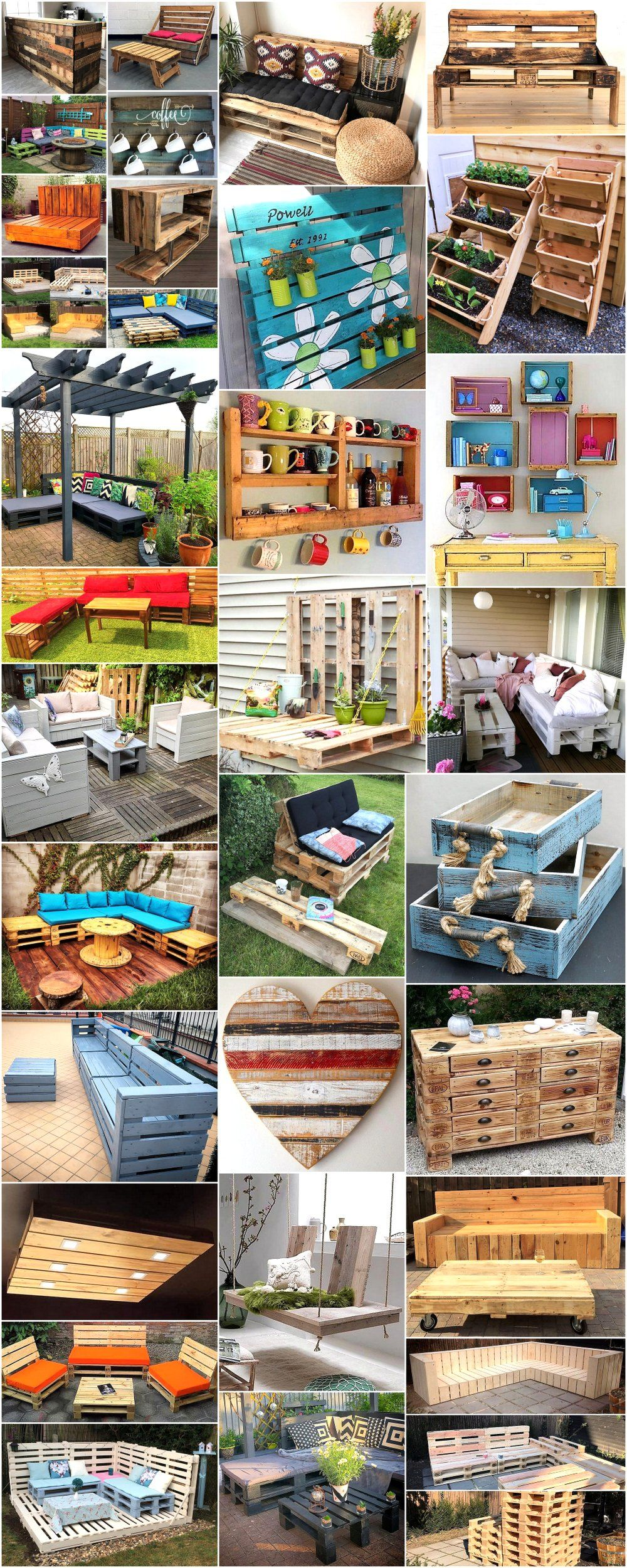 Things That Can Be Made With Used Wooden Pallets Wood Pallets