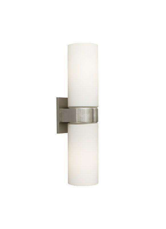 Tech Lighting 700wshud2w Hudson Cylindrical Glass Wall Washer