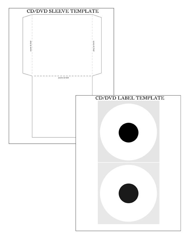 image of project cd dvd sleeve label dvd level pinterest