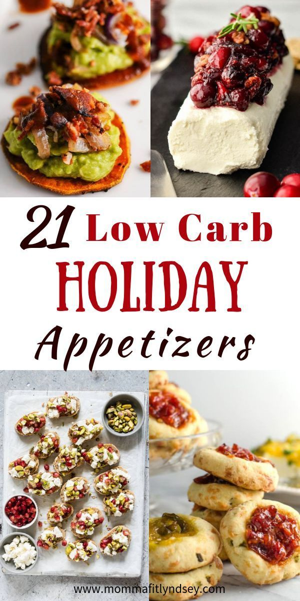 Low Carb Appetizers - 21 Healthy Appetizers for the Holidays