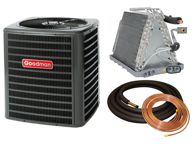 2 5 Ton 13 Seer Goodman Air Conditioner Condenser Air Conditioner Condenser Air Conditioner Coil