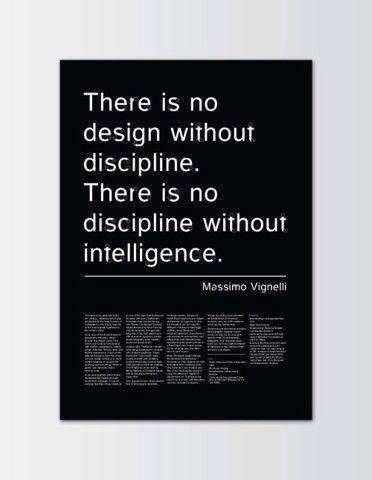 massimo vignelli massimo vignelli design quotes lettering