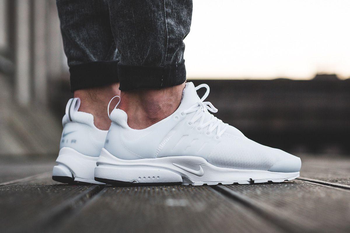 Nike Air Presto Essential Men's Shoe | Nike air presto white