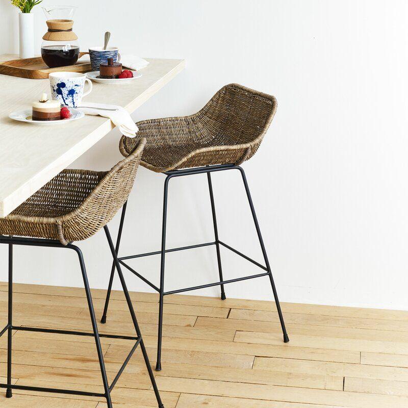 Design Ideas Ormond Counter Stool Wayfair Ca Wicker