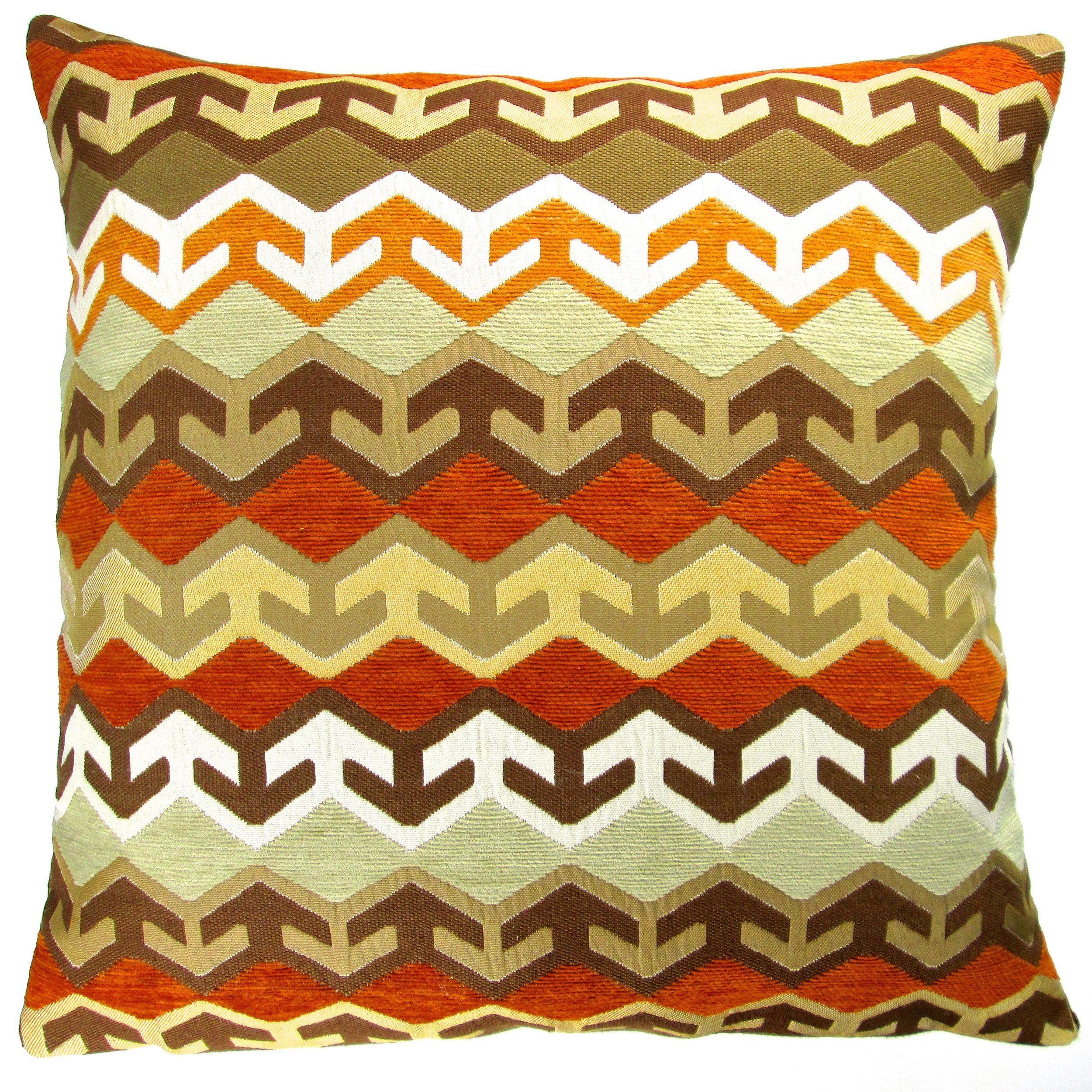 Artisan Pillows 20 Inch Geometric Arrow Accent Throw Pillow Cover